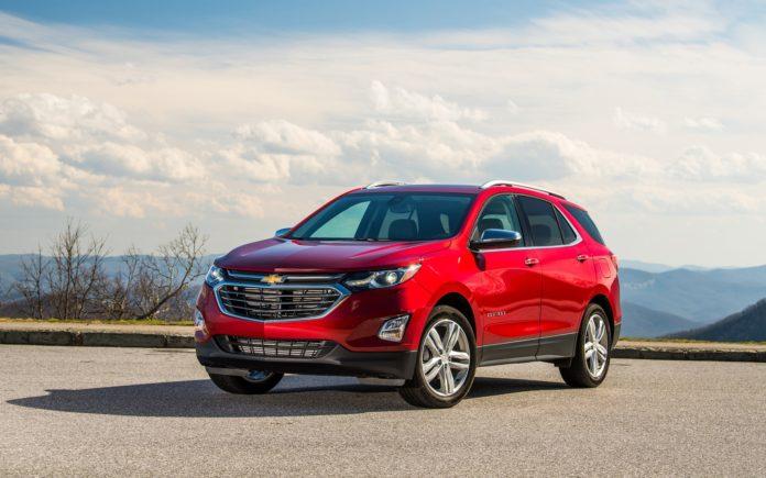 Chevrolet Equinox Best-selling SUVs