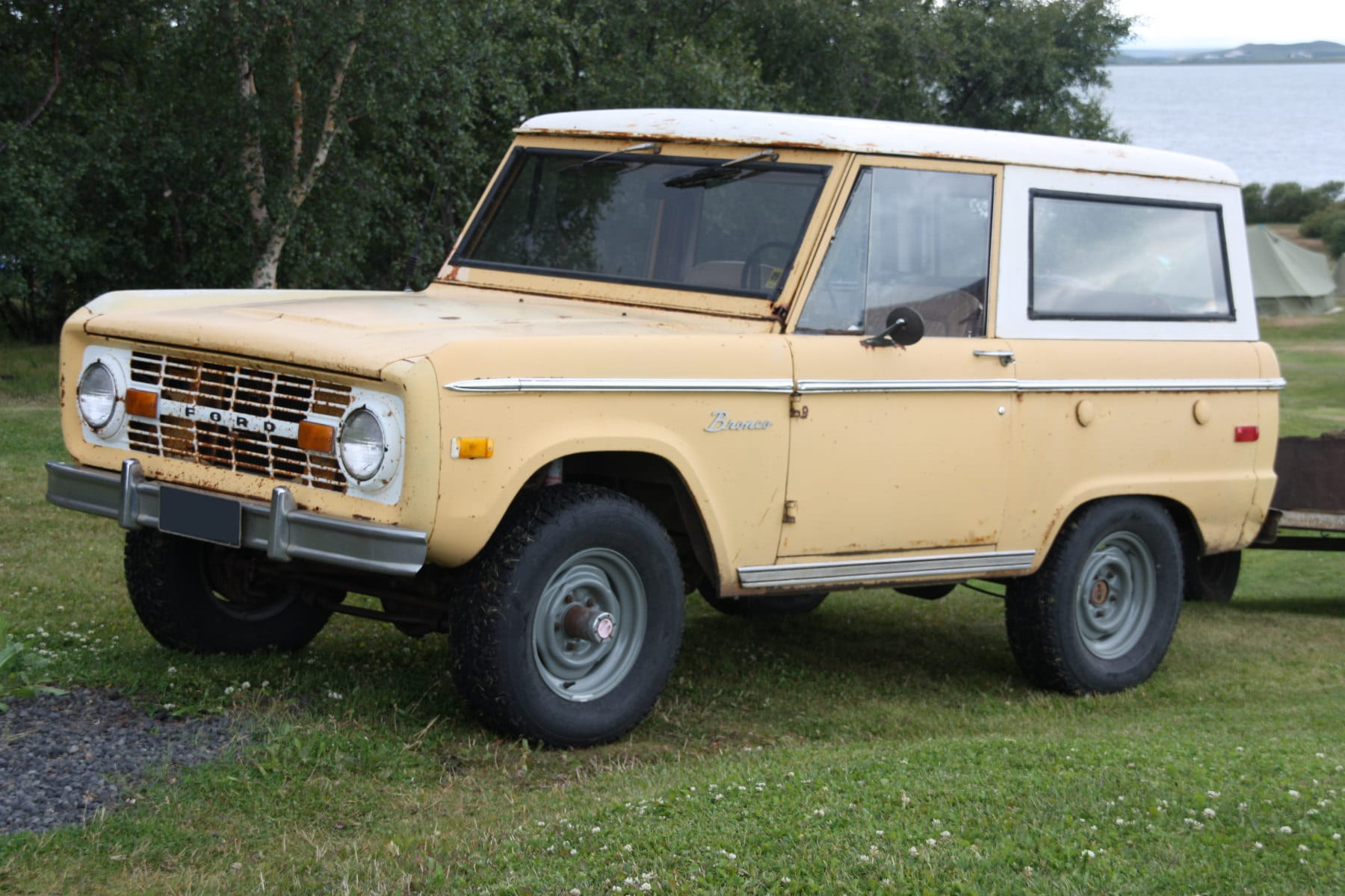 The evolution of the Ford Bronco
