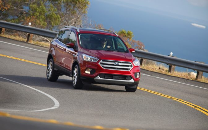 Ford Escape Best-selling SUVs