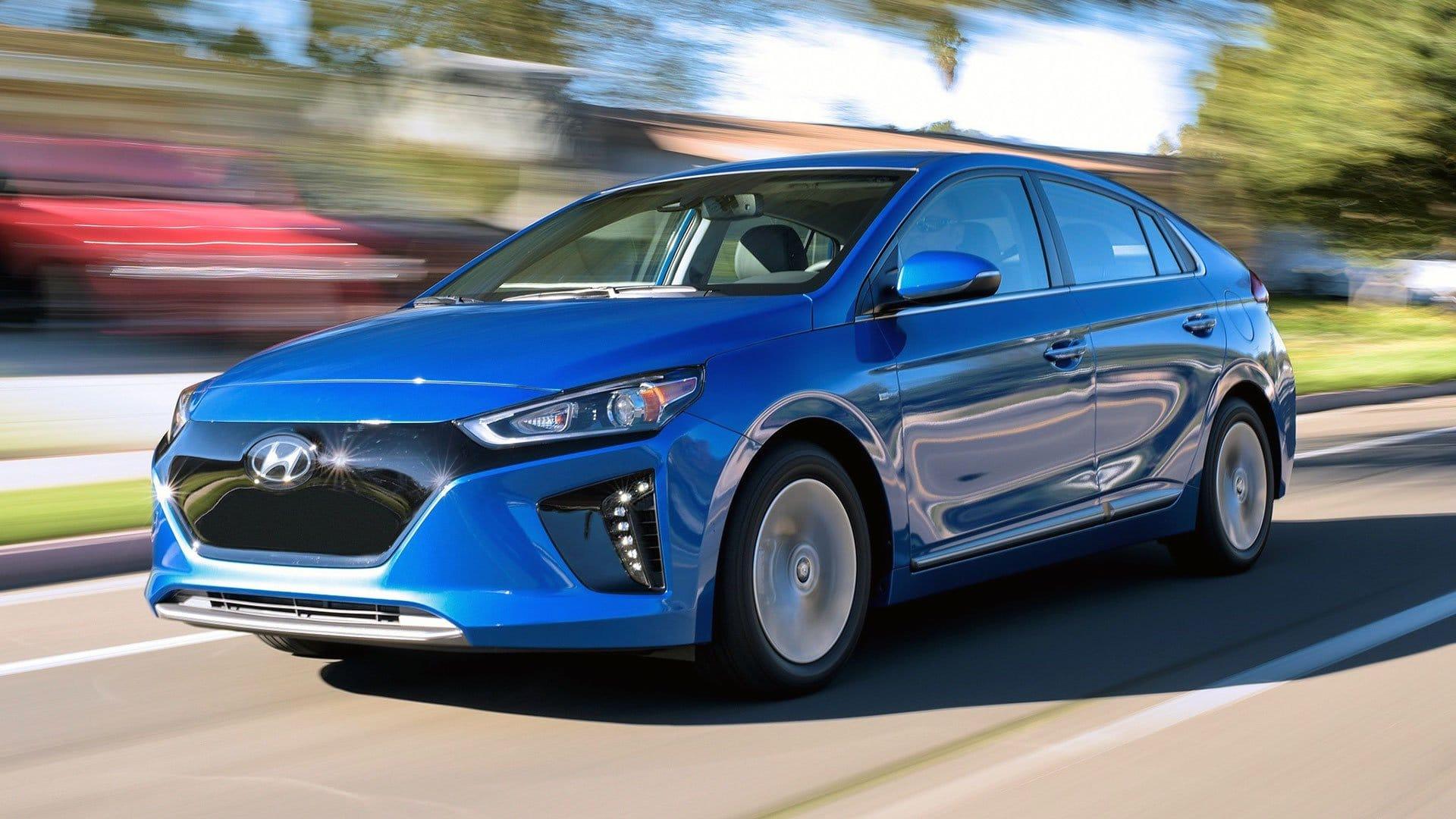 Hyundai IONIQ EV range