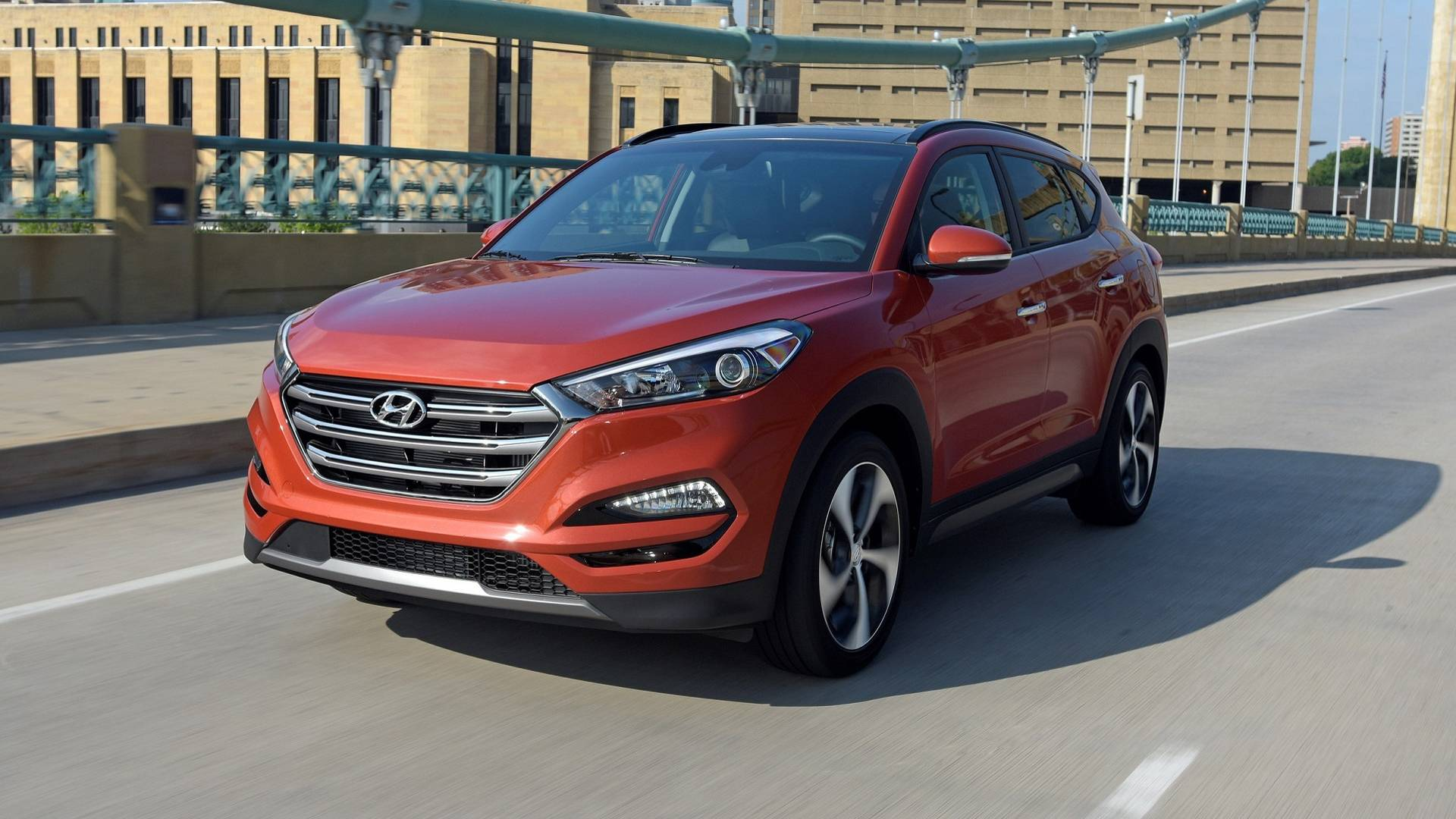 Hyundai Tucson Best-selling SUVs in Canada