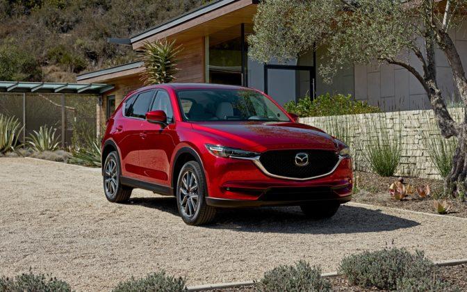 Mazda CX-5 Best-selling SUVs