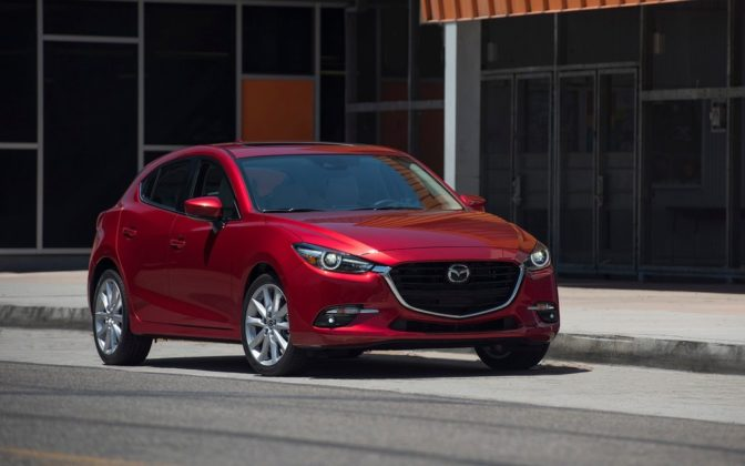 Mazda3 best-selling cars in Canada