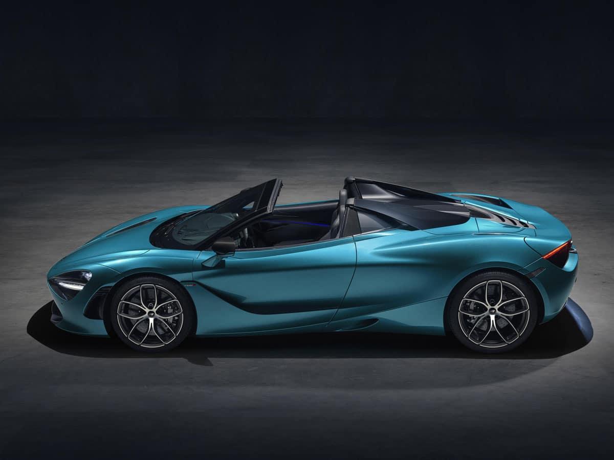 New McLaren 720S Spider