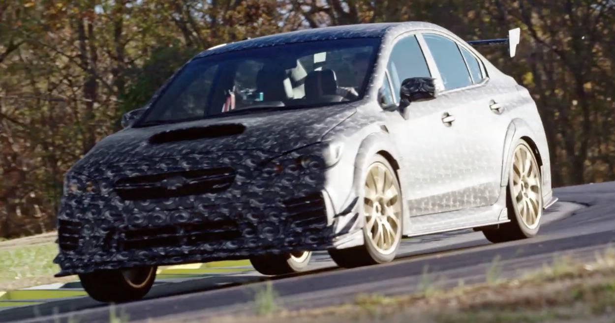 Subaru WRX STI S209 Teaser
