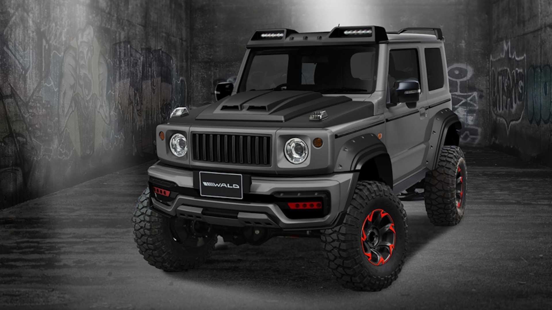 Suzuki Jimny Black Bison Wald