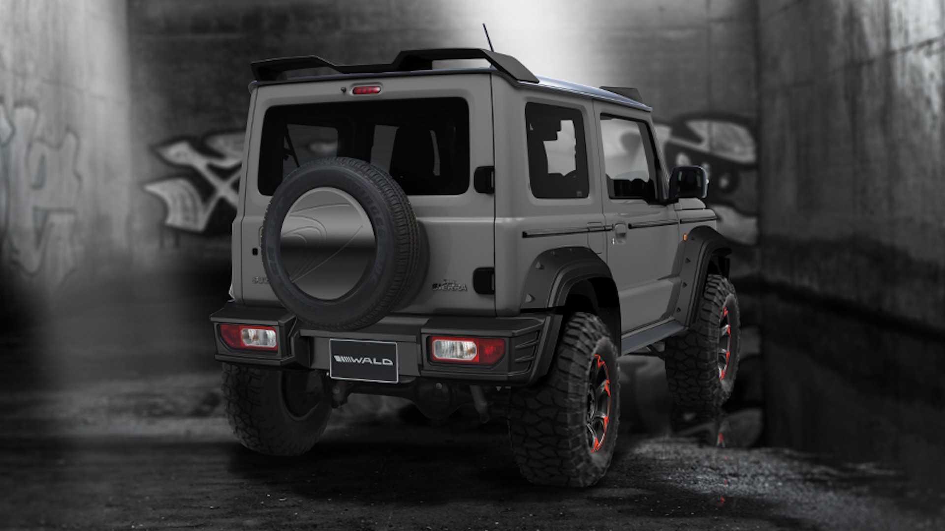 Suzuki Jimny Black Bison