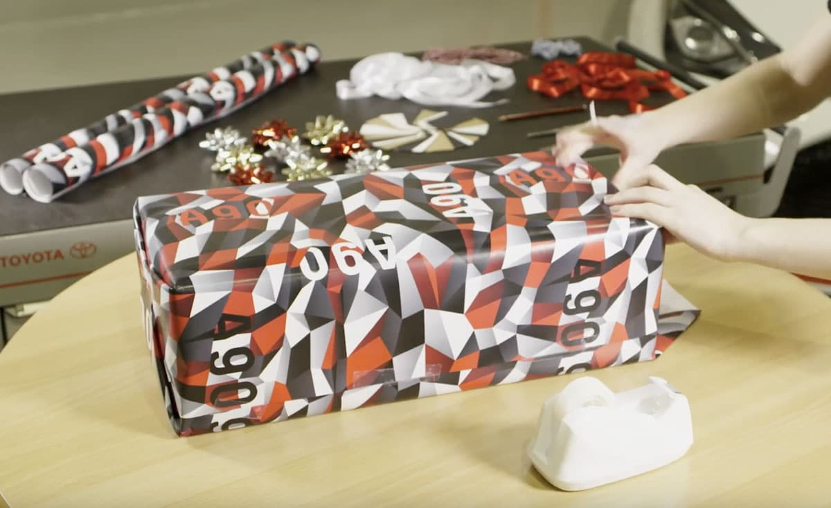 Wrap Your Gifts in Toyota Supra Camo This Christmas And Help A Good ... af46558455