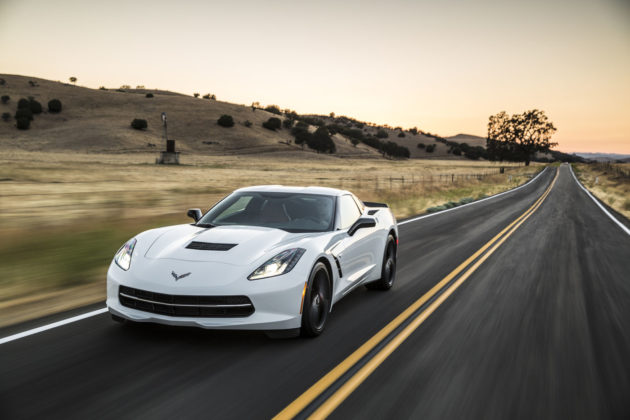 Chevrolet Corvette dealer lots