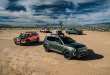 2020 Kia Telluride towing capacity and fuel economy