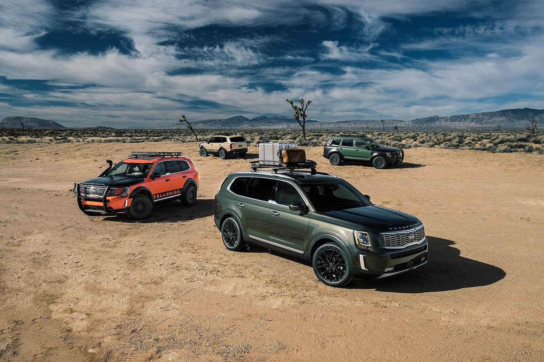 2020 Kia Telluride Fuel Economy and Towing Capacity
