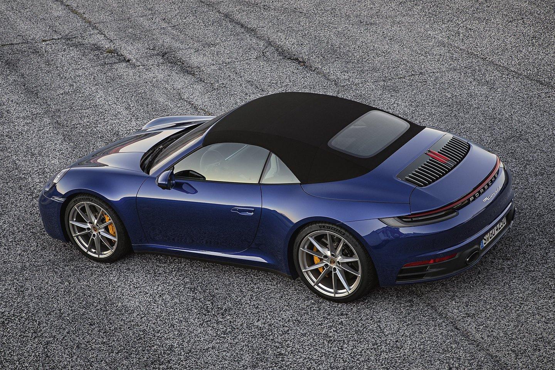 2020 Porsche 911 Carrera 4S Cabriolet