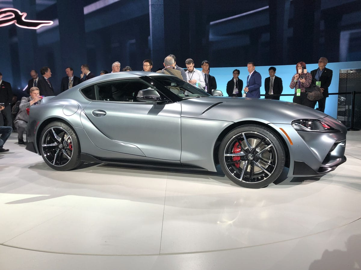 Over 2 Million At Auction For First 2020 Toyota Supra