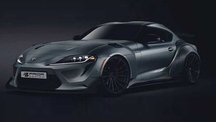 2020 Toyota Supra Prior Design