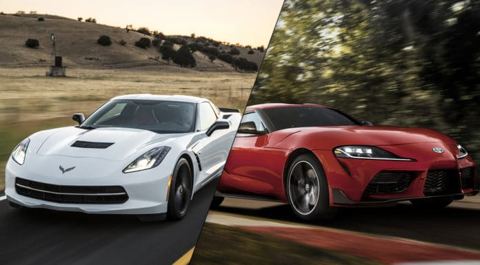 2020 Toyota Supra vs 2019 Chevrolet Corvette