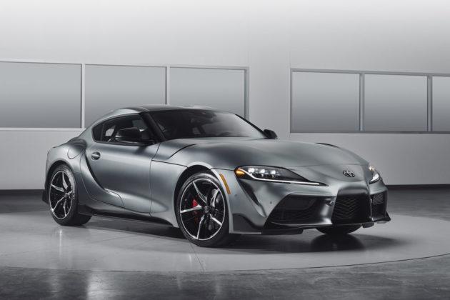 2020 Toyota Supra Matte Gray