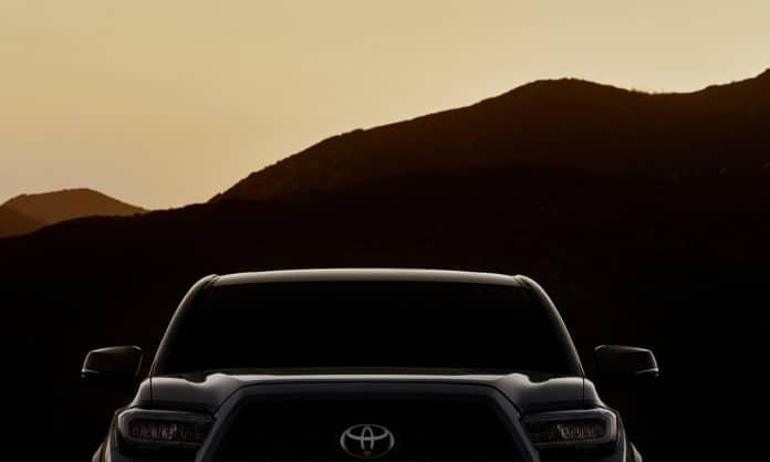 2020 Toyota Tacoma Teaser
