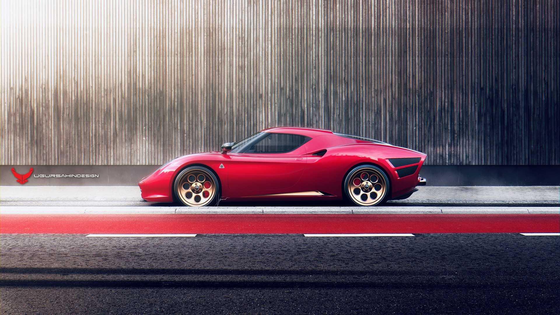 Alfa Romeo 4C >> Tuned Alfa Romeo 4C Pays Tribute to 33 Stradale - Motor ...