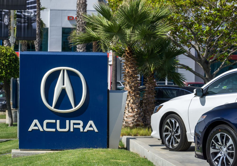 Best-selling Premium Brands in the US - Acura