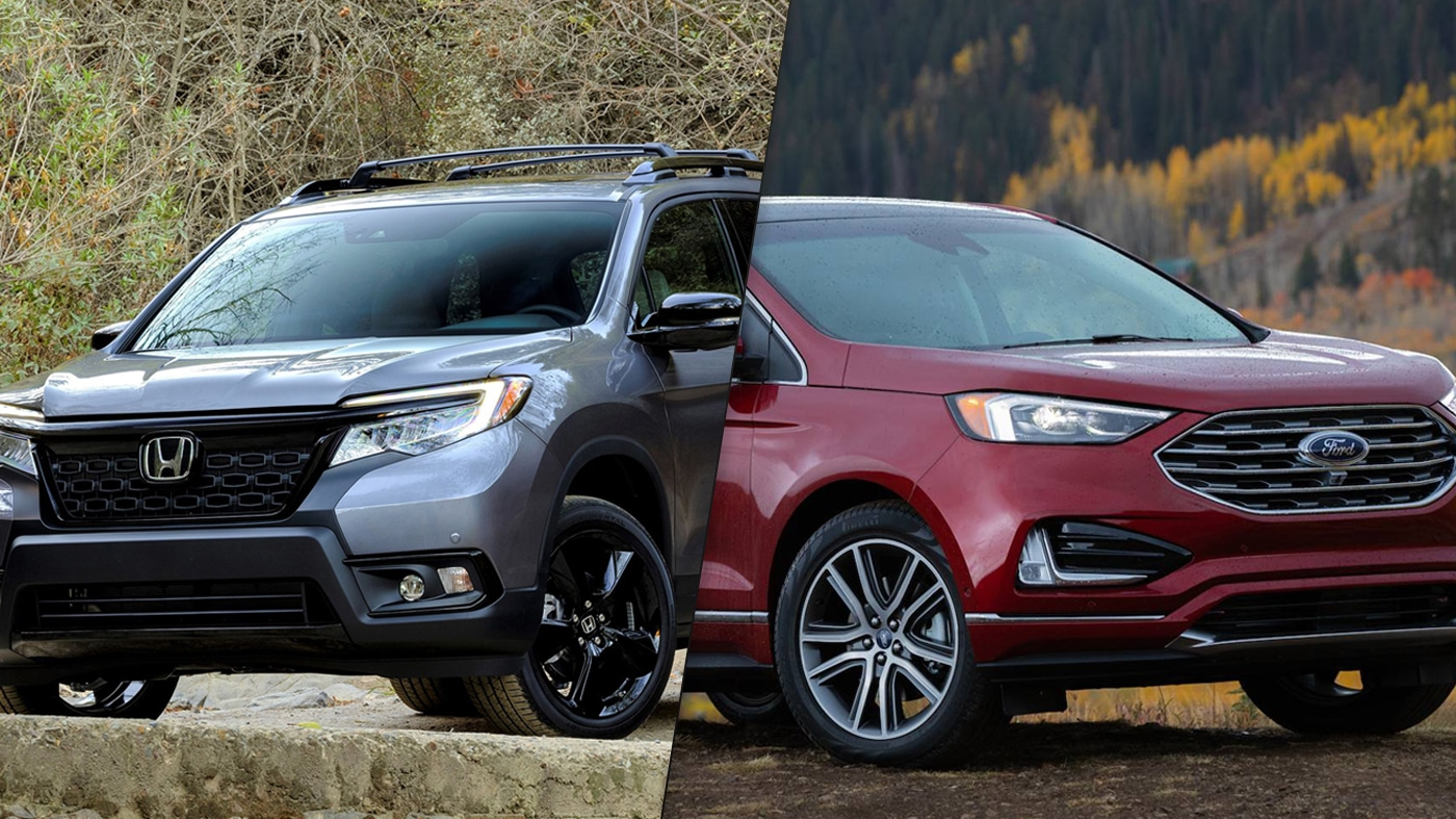 Honda Passport vs Ford Edge