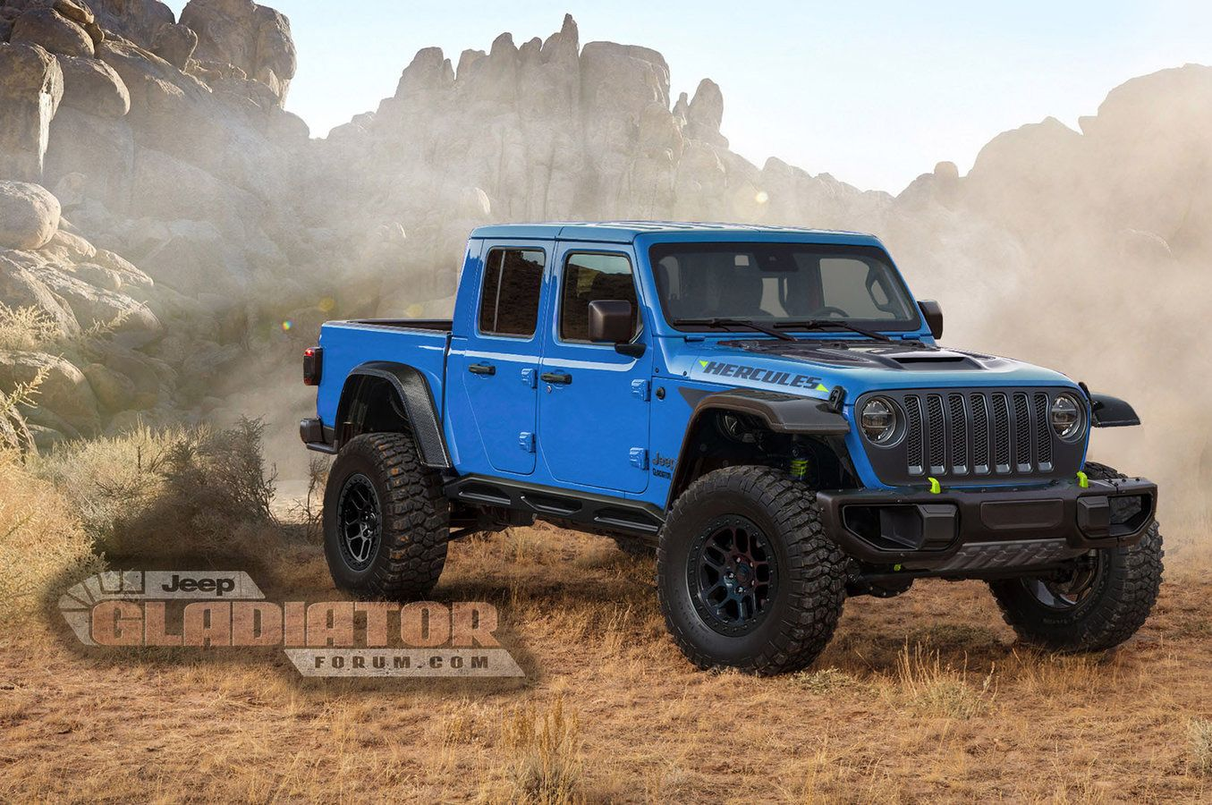 ford ranger raptor vs jeep gladiator hercules  oh the possibilities