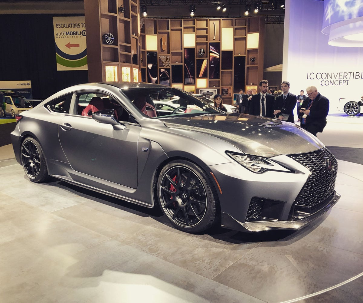 2020 Lexus RC F Track Edition Adds Bite To RC Lineup