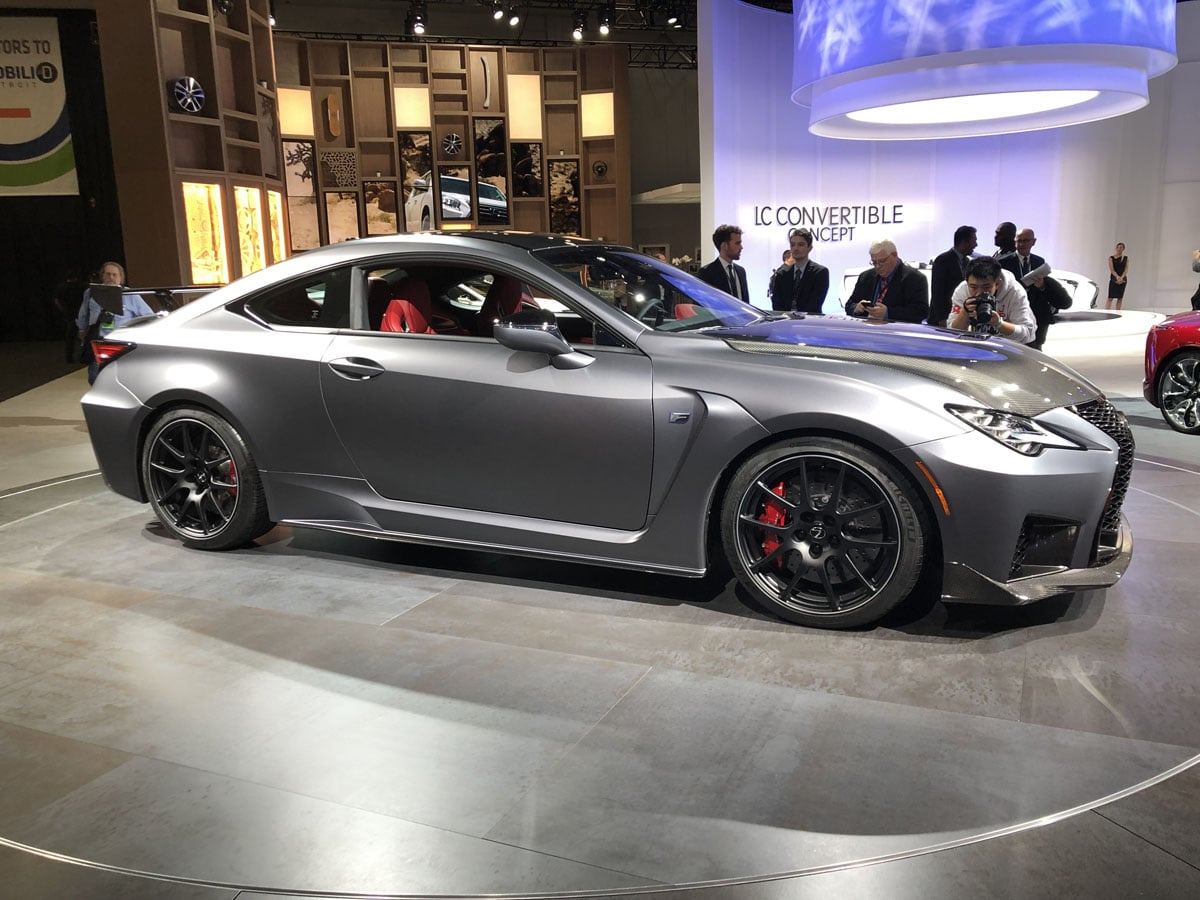 2020 Lexus RC F Track Edition