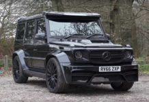 Mercedes-AMG G63 Onyx Concept