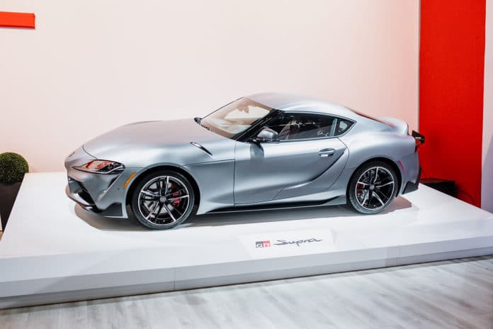 ef6acfe93d6 Over 2 Million At Auction for First 2020 Toyota Supra - Motor ...
