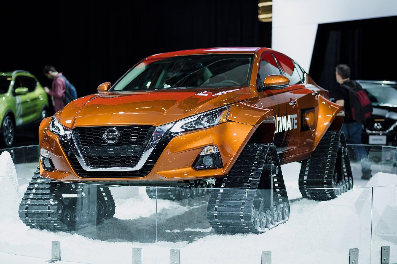 Nissan Altima-TE AWD