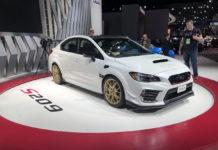 Subaru WRX STI S209 Detroit Auto Show
