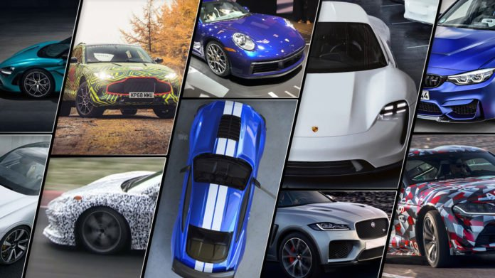 Top performance cars of 2019