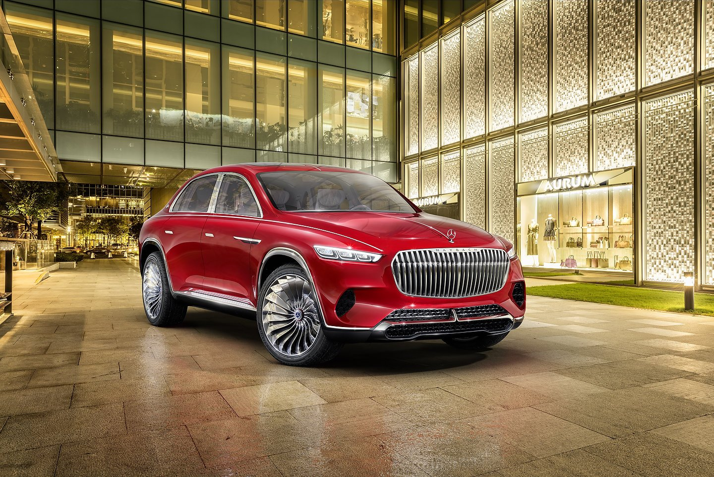 Vision Mercedes-Maybach Ultimate Luxury Mercedes-Maybach GLS 600