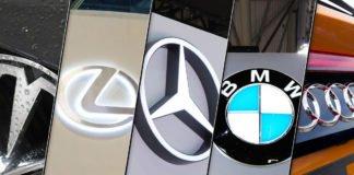 best-selling luxury cars US main