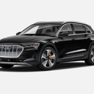 Audi e-tron 55 quattro in Brilliant Black