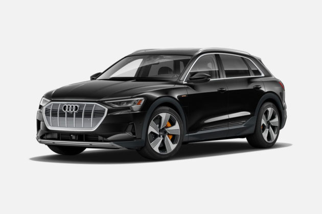 Audi e-tron 55 quattro in Brilliant Black