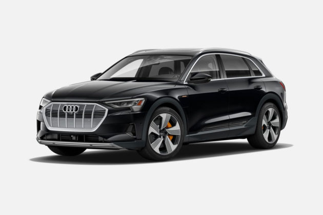 Audi e-tron 55 quattro in Mythos Black Metallic