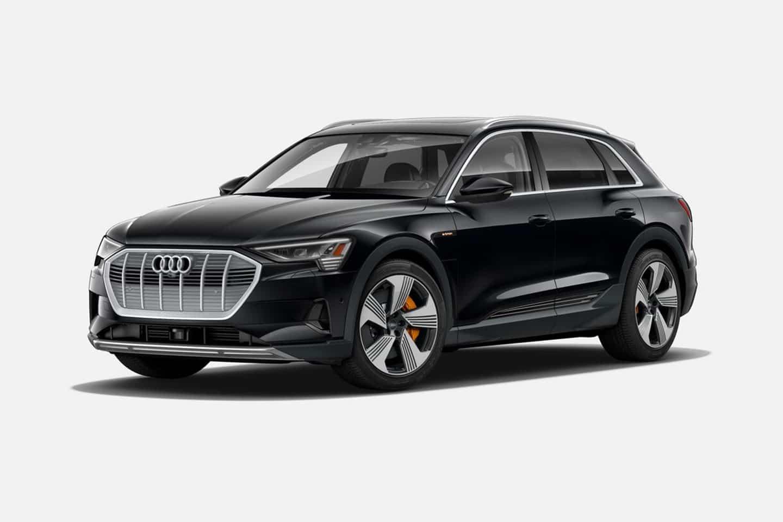 Audi e-tron 55 quattro in Mythos Black Metallic