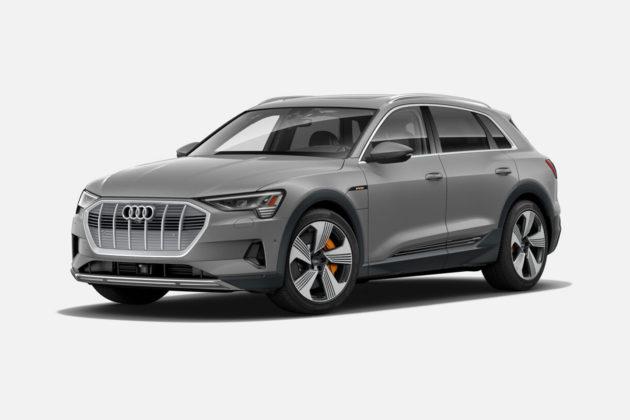 Audi e-tron 55 quattro in Siam Beige Metallic