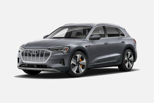 Audi e-tron 55 quattro in Typhoon Grey Metallic