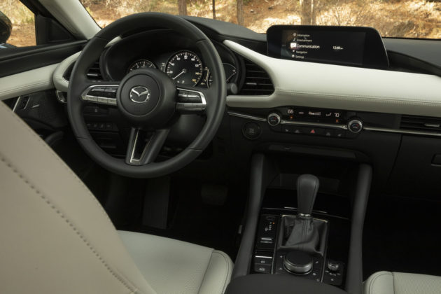 2019 Mazda3 Review Interior