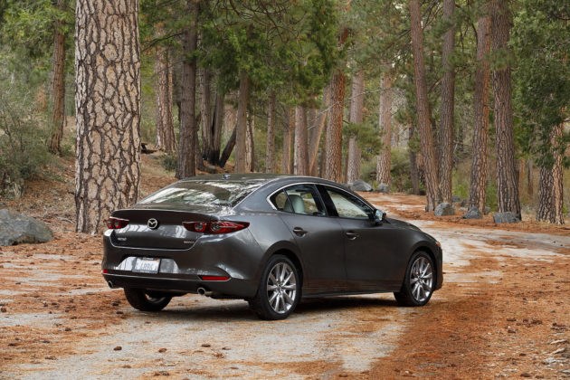 2019 Mazda3 Sedan rear