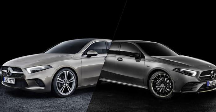 2019 Mercedes-Benz A-Class Hatch vs Sedan