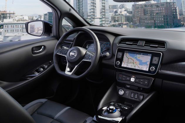 2019 Nissan LEAF interior