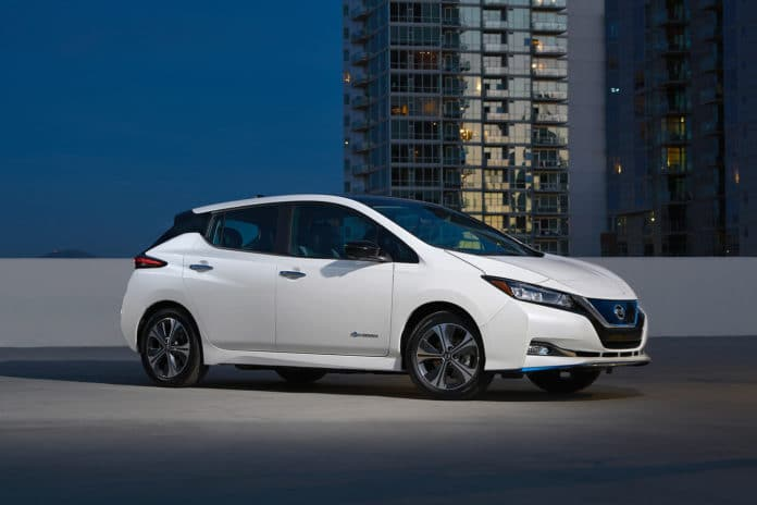 2019 Nissan LEAF PLUS IZEV Program
