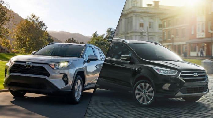 2019 Toyota RAV4 vs 2019 Ford Escape