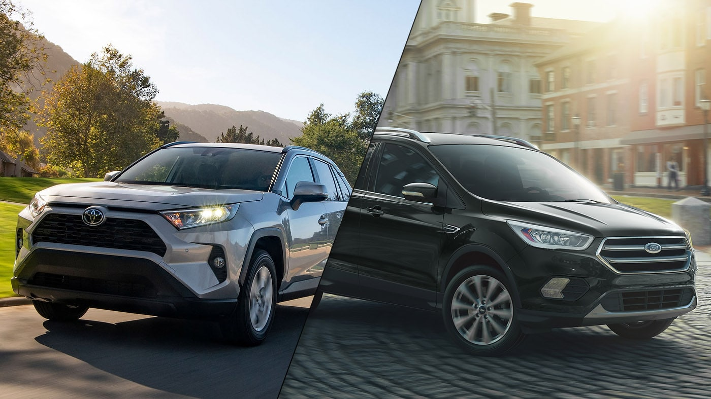 2019 Toyota RAV4 vs 2019 Ford Escape