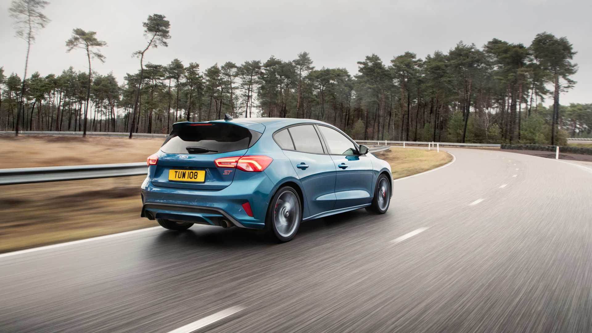 Ford Focus ST Picture Rear