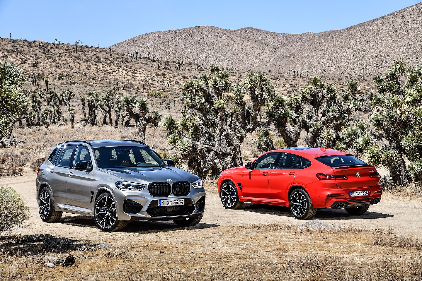 2020 BMW X3 M Competition and 2020 BMW X4 M Competition