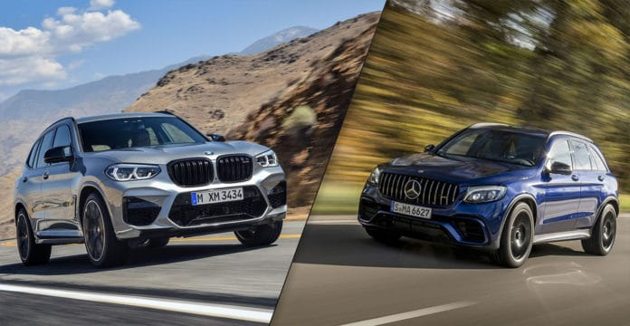2020 BMW X3 M vs Mercedes-AMG GLC 63 S